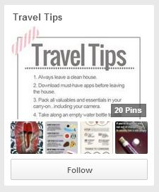 travel tips board