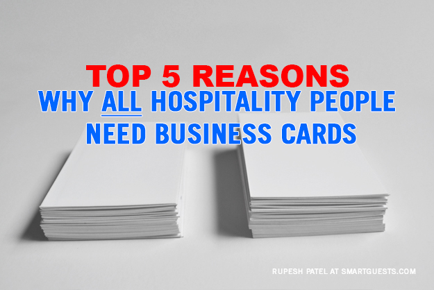Top 5 reasons why all hospitality people need business cardsg top 5 reasons why all hospitality people need business cards colourmoves