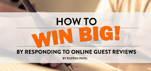How to WIN BIG by Responding to Online Guest Reviews