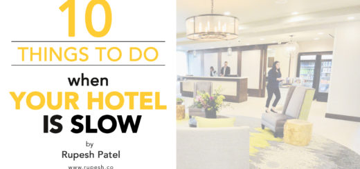 10 things to do when your hotel is slow