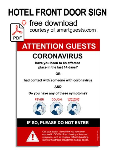 Click to download coronavirus sign