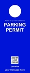 Parking Permit - Blue