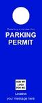 Parking Permit - Blue