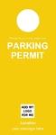 Parking Permit - Yellow