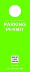 Parking Permit - Green