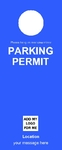 Parking Permit - Blue 2
