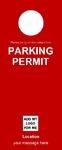 Parking Permit - Red