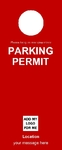 Parking Permit - Red