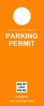 Parking Permit - Orange