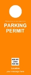 Parking Permit - Orange