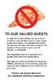 Pizza Notice