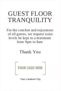 Guest Floor Tranquility 20