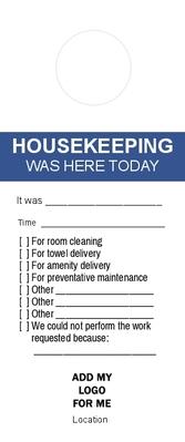 Housekeeping Was Here