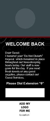 DND Door Hanger - Autograph Design
