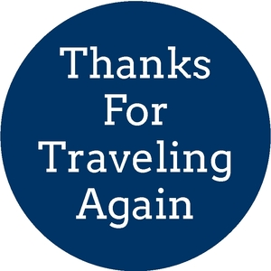 Thanks for Traveling Again