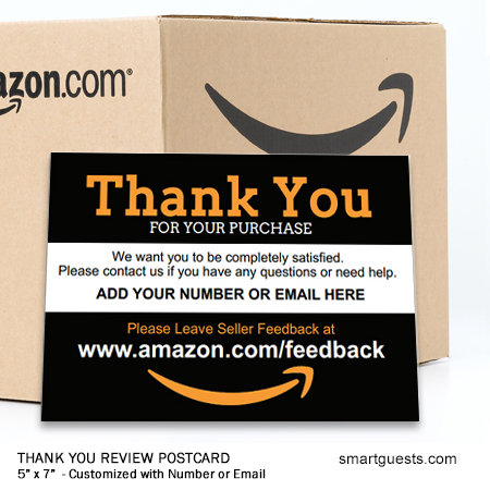Thank You Review Postcards