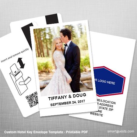 Hotel Key Card Holder Template - Printable (PDF)