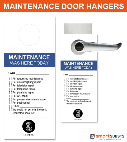 Maintenance Door Hangers