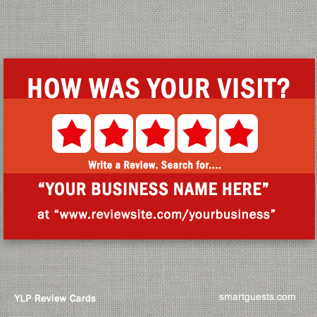 YLP Review Cards