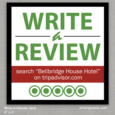 Write a Review Cards