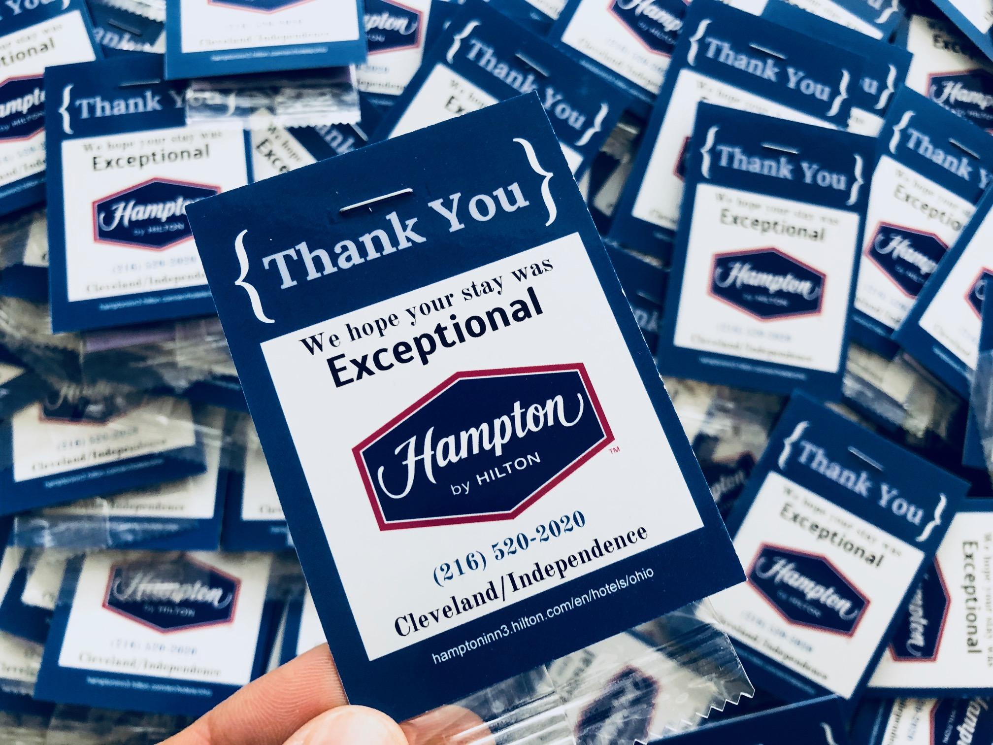 Custom Air Freshener Cards