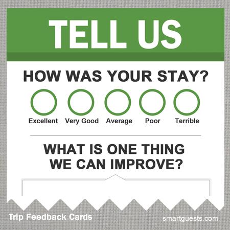 Trip Feedback Cards